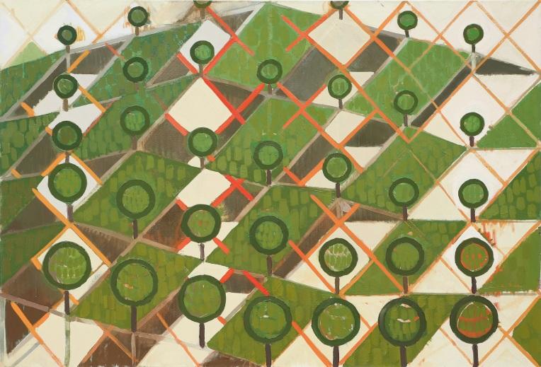 1. Into the Trees 112cm x 76cm